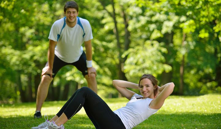 personal trainer outdoor