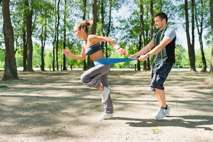 אימון כושר אישי בחוץ