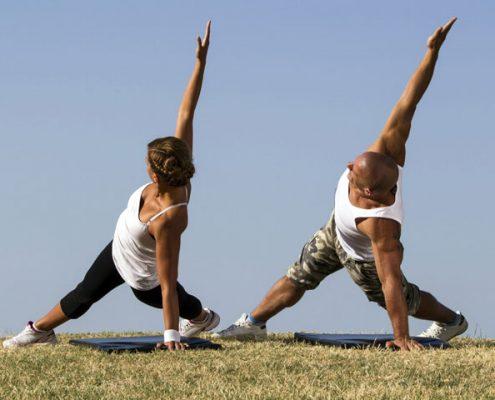 פעילות גופנית בחוץ