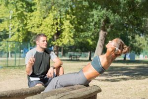 אימון כושר אישי בפארק