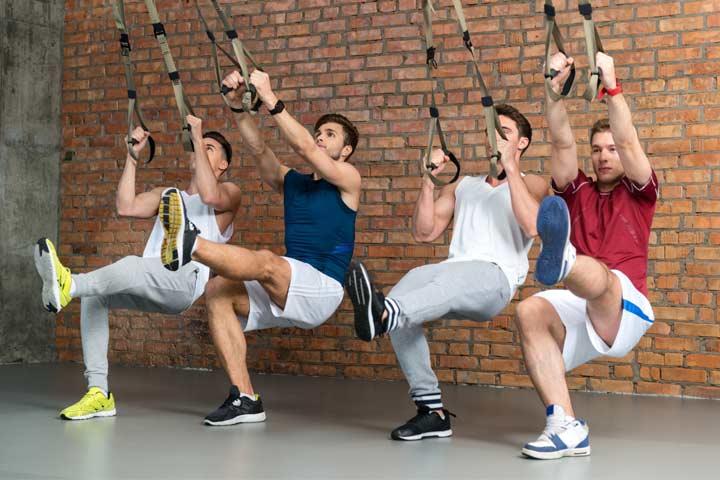 אימון TRX קבוצתי לגברים