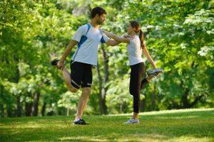 מתיחות אחרי אימון כושר אישי
